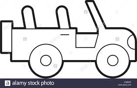safari jeep front clipart 4x4 stock vector images alamy