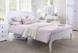 white king size bed frame amazon co uk