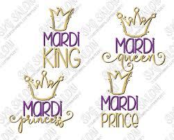 mardi gras shirts mardi gras royal family svg cut file set for family shirts
