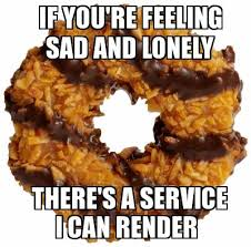 Lonely Girl Meme - girl scout cookies which ones are the healthiest youbeauty com