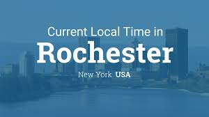 Rochester New York Zip Code Map by Current Local Time In Rochester New York Usa