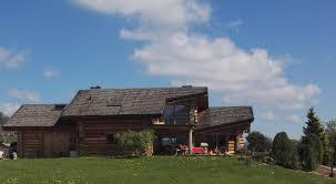 Comment Fabriquer Une Maison En Bois La Pessière Lodge Et Chalet En Bois Ronds Fuste Rondin Accueil