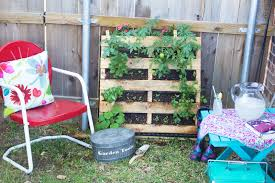 How To Plant Vertical Garden - how to make a vertical pallet vegetable u0026 herb garden discover