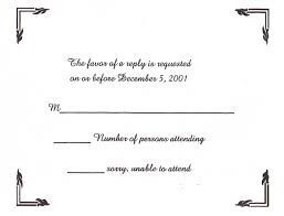 sle rsvp cards best photos of blank response card template rsvp response card
