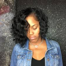 wave sew in and choppy wave bob sew in using my indian wave