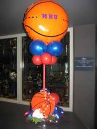 Table Decorating Balloons Ideas Balloon Basketball Themed Party Denver Jump Ball Get It Get It