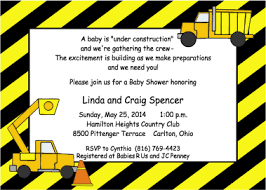 construction baby shower construction theme baby shower invitations