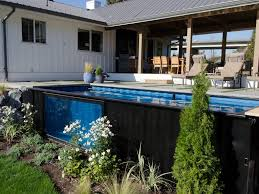modpools create backyard pools using shipping containers