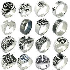 cross rings men images Mens cross rings cross rings cross sterling silver rings for men jpg