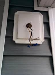 vinyl siding light mount new house siding how do i install outdoor lights on this bracket