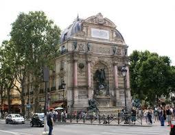 A Place Vue Vue De La Place Michel Et Sa Fontaine Picture Of Fontaine