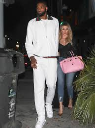 gucci jumpsuit tristan thompson goes out with khloe wearing gucci