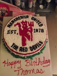 manchester united birthday cake ideas free advertising new