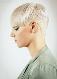 very short in back and very long in front hair hairstyle with very short sides and back and a wide long fringe