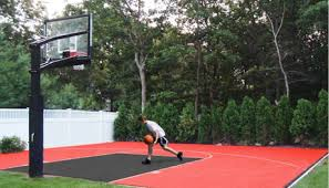 Backyard Sport Courts by How To Build A Backyard Basketball Court Tami Savage Pulse