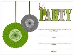 free birthday printable birthday invitations tags free printable