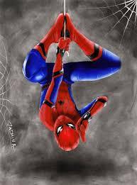 spider man homecoming drawing jasminasusak deviantart