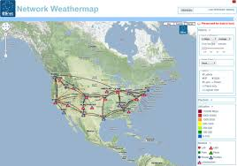 Weather Map Symbols Network Weather Map Visual Ly