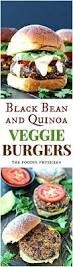 black bean u0026 quinoa veggie burgers the foodie physician