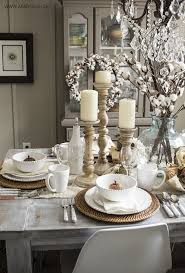 early fall dining room table settings dining and autumn
