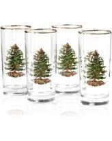 cyber monday savings on metallic rimmed glassware water glass