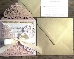 Paper For Wedding Invitations Wedding Invitations Etsy Ca