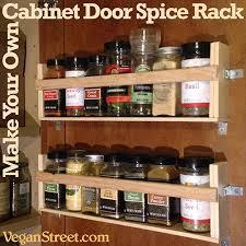 cabinet door spice rack make your own cabinet door spice rack diy home pinterest door
