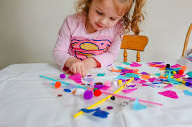 easy sticky back plastic crafts for kids day out with the kids