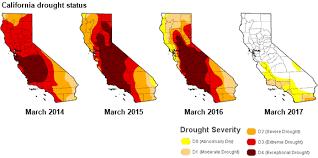 california map drought record precipitation snowpack in california expected to increase