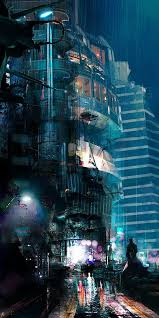 28 best cyberpunk images on pinterest cities concept art and
