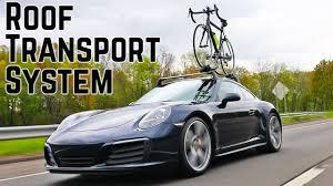 Porsche Boxster Bike Rack - porsche roof transport system for the 911 youtube