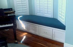trend decoration bay window seat and storage for fresh rebuild