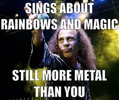 Ton Meme - been listening to a ton of old rainbow albums lately imgur