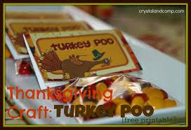 thanksgiving crafts turkey poo free printable craft free