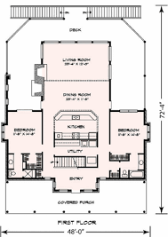 Open Kitchen Dining Room Floor Plans by I Would Live In This Even Without The Second Floor Master