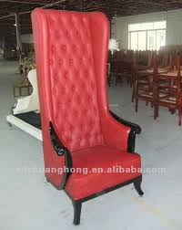 High Back Wing Armchairs Hotel Lobby Furniture High Back Sofa For Hotel Public Area Buy