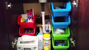 How To Organize Under Your Bathroom Sink - how to organize under your bathroom sink youtube