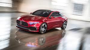 luxury mercedes sedan mercedes concept a sedan shows an attractive future in shanghai