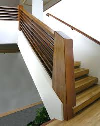 Oak Stair Banister Modern Wood Railings Banisters Modern Stair Handrail Modern Stair