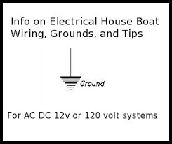 houseboat tips and information marine grounding electrical system
