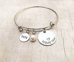 personalized bangle bracelet future mrs bangle charm bracelet gift for handmade nsbjpjman
