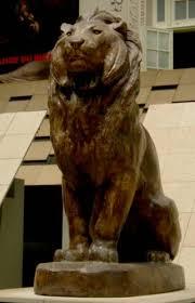 barye lion sculpture antoine louis barye lion assis musée d orsay vi