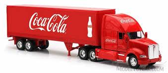 kenworth tractor trailer kenworth t700 tractor trailer red motor city coca cola 340811