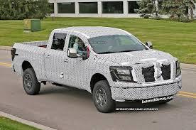 nissan titan concept truck 2016 nissan titan pickup spied testing