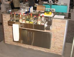 Outdoor Kitchen Cabinets Kits by Cute Outdoor Kitchen Cabinets Come With Stainless Steel Double