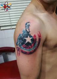 40 mightiest marvel comic tattoo designs for men and women dzine mag