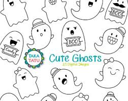 cute halloween ghost clipart image 20 off sale cute ghosts clipart kawaii ghost clipart cute