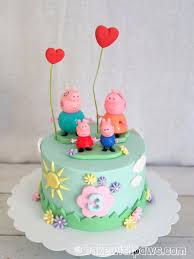 peppa pig birthday cakes peppa pig birthday cake bake with paws