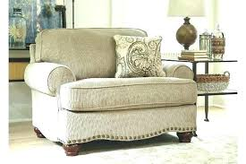 Oversized Chair With Ottoman Oversized Ottoman Cover Oversized Chair Cover Chair And Ottoman
