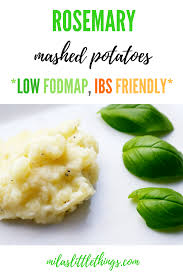 Fod Map Ibs Mashed Potato Recipe Ibs Friendly Low Fodmap Mashed Potatoes